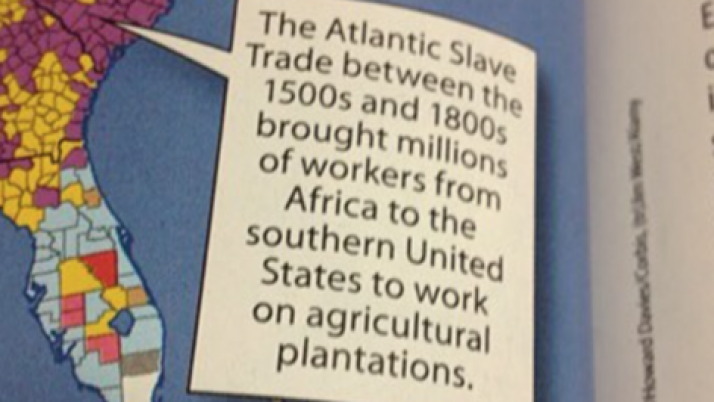 """McGraw-Hill Publishing Company Erases the Word """"Slavery"""" from It's Textbooks"""