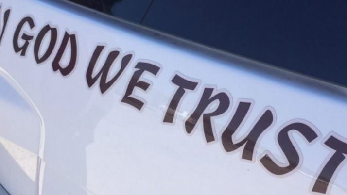"The Motto ""In God We Trust"" Unites a Community"