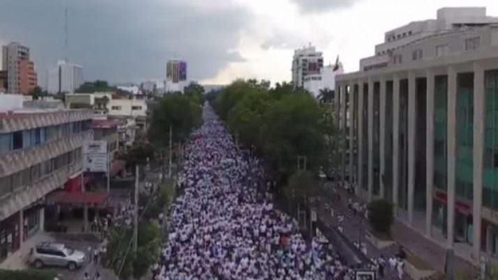 250,000 March Against Same-Sex Marriage in Mexico